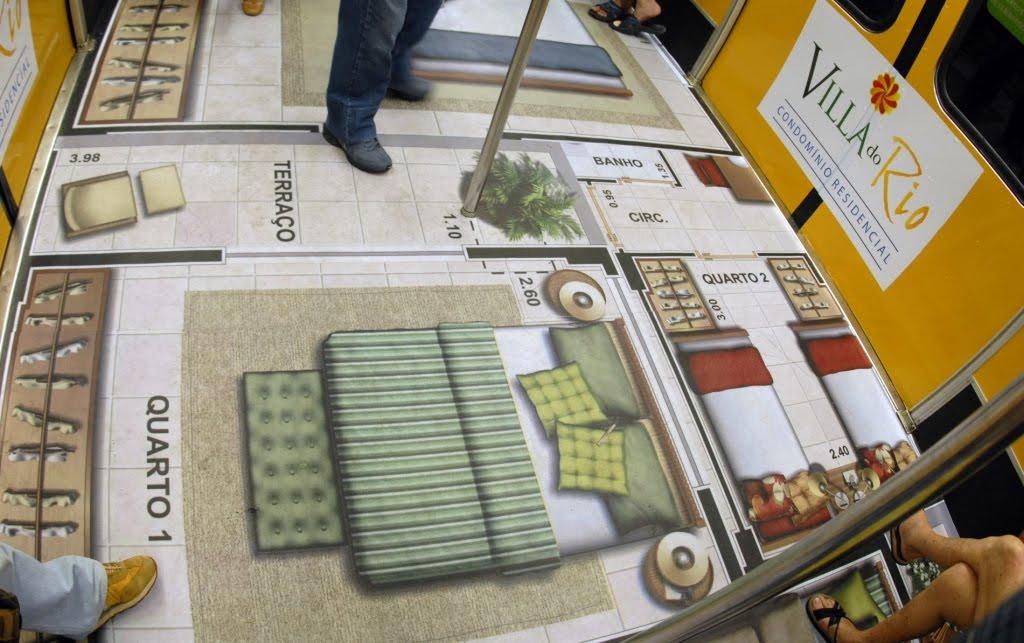 Metrô RJ - piso 2_ em baixa