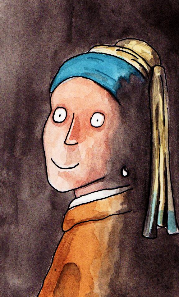 """""""Moça com o Brinco de Pérola"""", de Vermeer"""