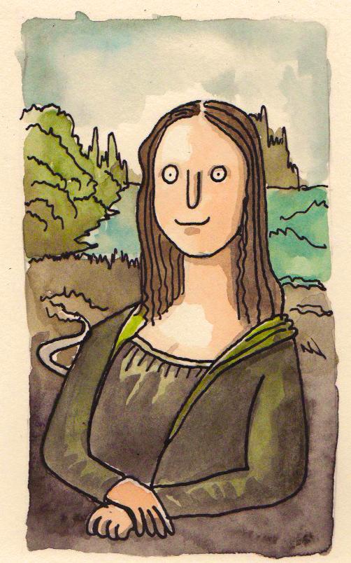 """""""Monalisa"""", de Leonardo da Vinci"""