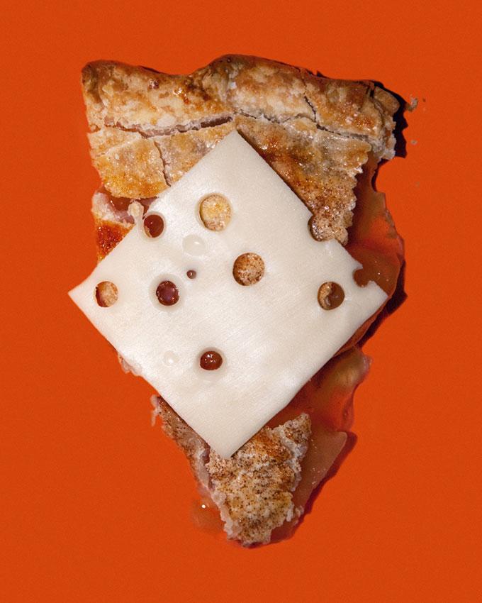 Em Wisconsin, os restaurantes não podem servir torta de maçã sem queijo
